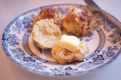 Cheese Scones with Worcestershire Sauce